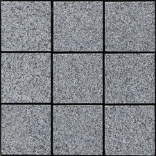 "Granite 11.75"" x 11.75"" Interlocking Deck Tiles in Dark Gray"