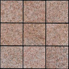 "Granite 11.75"" x 11.75"" Interlocking Deck Tiles in Sand Beige"