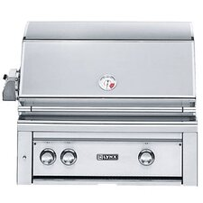 "30"" Built-In Gas Grill with ProSear2 - Rotisserie Burner"