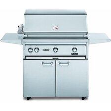 "36"" Gas Grill with ProSear2-Rotisserie Burner"
