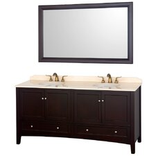 "Audrey 72.25"" Double Bathroom Vanity Set"
