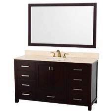 "Abingdon 61"" Single Bathroom Vanity Set"