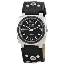 Women's Off the Cuff Watch in Black