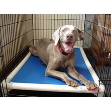 Elevated Chew-Proof Crate Dog Bed