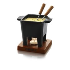 "5.12"" Tapas Cheese Fondue in Black"
