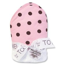 Maya Polka DotsTerry Hooded Towel