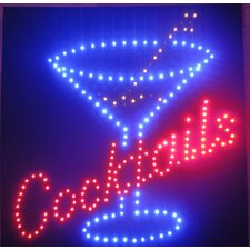 Cocktails LED Sign