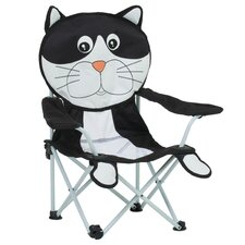 Charles The Cat Kid's  Beach Chair