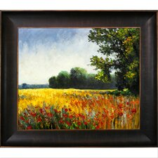 Oat Fields Canvas Art