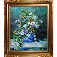 Grande Vase Di Fiori Canvas Art