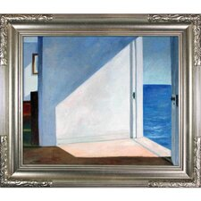 Hopper Rooms by The Sea Canvas Art
