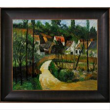 Cezanne Turn in The Road Canvas Art