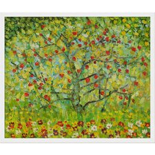 Klimt The Apple Tree Canvas Art