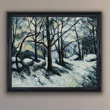 Cezanne Melting Snow, Fontainebleau Canvas Art