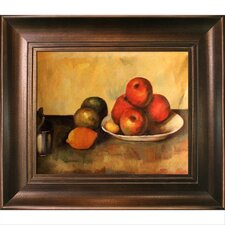 Still Life with Apples Canvas Art