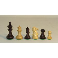 Walnut Stained Exclusive Chessmen