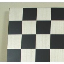 "14"" Basic Chess Board in Black / Maple"