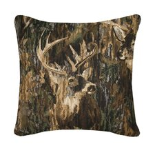 Whitetails Square Pillow