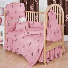 Buckmark 3 Piece Crib Bedding Set