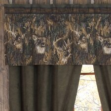 Whitetails Cotton Curtain Valance