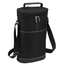 Two Bottle Carrier in Black