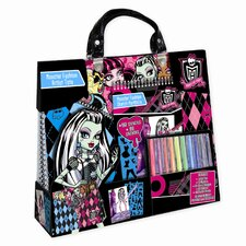Monster High Artist Tote Compact Portfolio Set