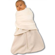 Fleece SleepSack™ Swaddle Wearable Blanket in Cream