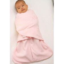Fleece SleepSack™ Swaddle Wearable Blanket in Pink