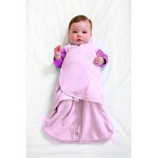 Microfleece SleepSack Swaddle in Pink (Small)