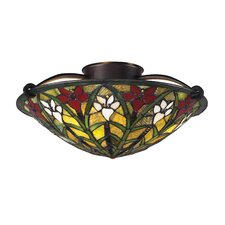 Magnolia 3 Light Flush Mount