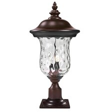 "Armstrong 3 Light 24.29"" Outdoor Post Lantern"