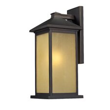 Vienna 1 Light Outdoor Wall Lantern