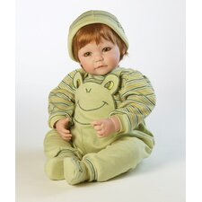 Baby Boy Doll Froggy Fun Red Hair / Green Eyes