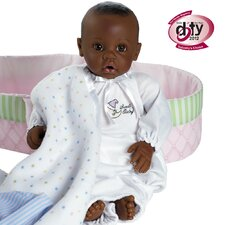 Nursery Time Baby Doll - Dark Skintone / Brown Eyes