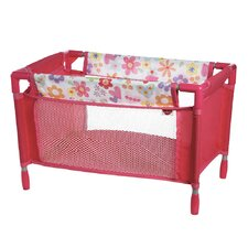 Doll Accessories Playpen Bed