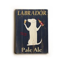 "Labrador Planked Wood Sign - 20"" x 14"""