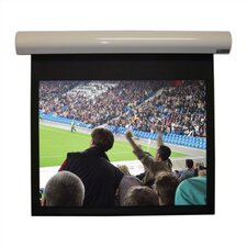 "Matte White Lectric I Motorized Screen - 160"" diagonal Video Format"