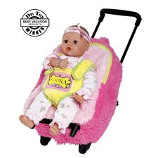 "Adora Playtime Rolling on Wheels  Backpack for 13"" PlayTime Baby Dolls"