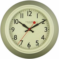 Cream Metal Wall Clock with Lascelles Dial