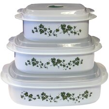 Coordinates Microwave Cookware and Storage Set with Callaway Design