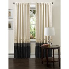 Mia Rod Pocket Curtain Panel Pair