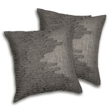 Lake Como Cotton Blend Square Decorative Pillow (Set of 2)