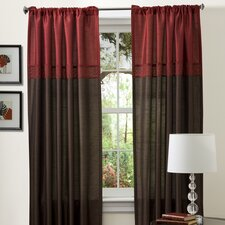 Geometrica Rod Pocket Curtain Panel Pair