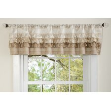 Starlet Rod Pocket Ruffled Curtain Valance