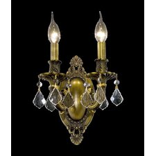 Rosalia 2 Light Wall Sconce