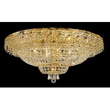 "Belenus 28 Light 18"" Flush Mount"