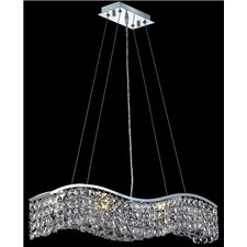 Contour  6 Light Chandelier