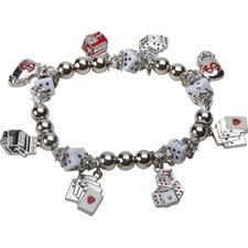 Bret Roberts Gaming Stretch Charm Bracelet