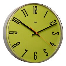 Lucite Wall Clock in Cyber