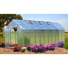 Monticello 8 x 8 ft. Quick Assembly Polycarbonate Greenhouse